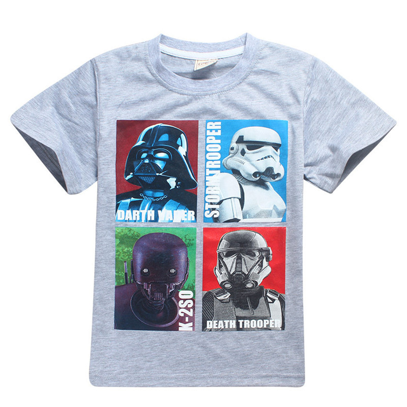 Boys clothes children t-shirt girls tops cartoon tshirt kids clothes Roblox Stardust Ethical boys t shirt Star wars enfant 2017