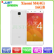 Original Xiaomi Mi4 M4 3G WCDMA Mobile Phone In Stock! 3GB RAM 16GB ROM 5″ 1080P IPS Snapdragon 801 Quad Core 2.5GHz Android 4.4