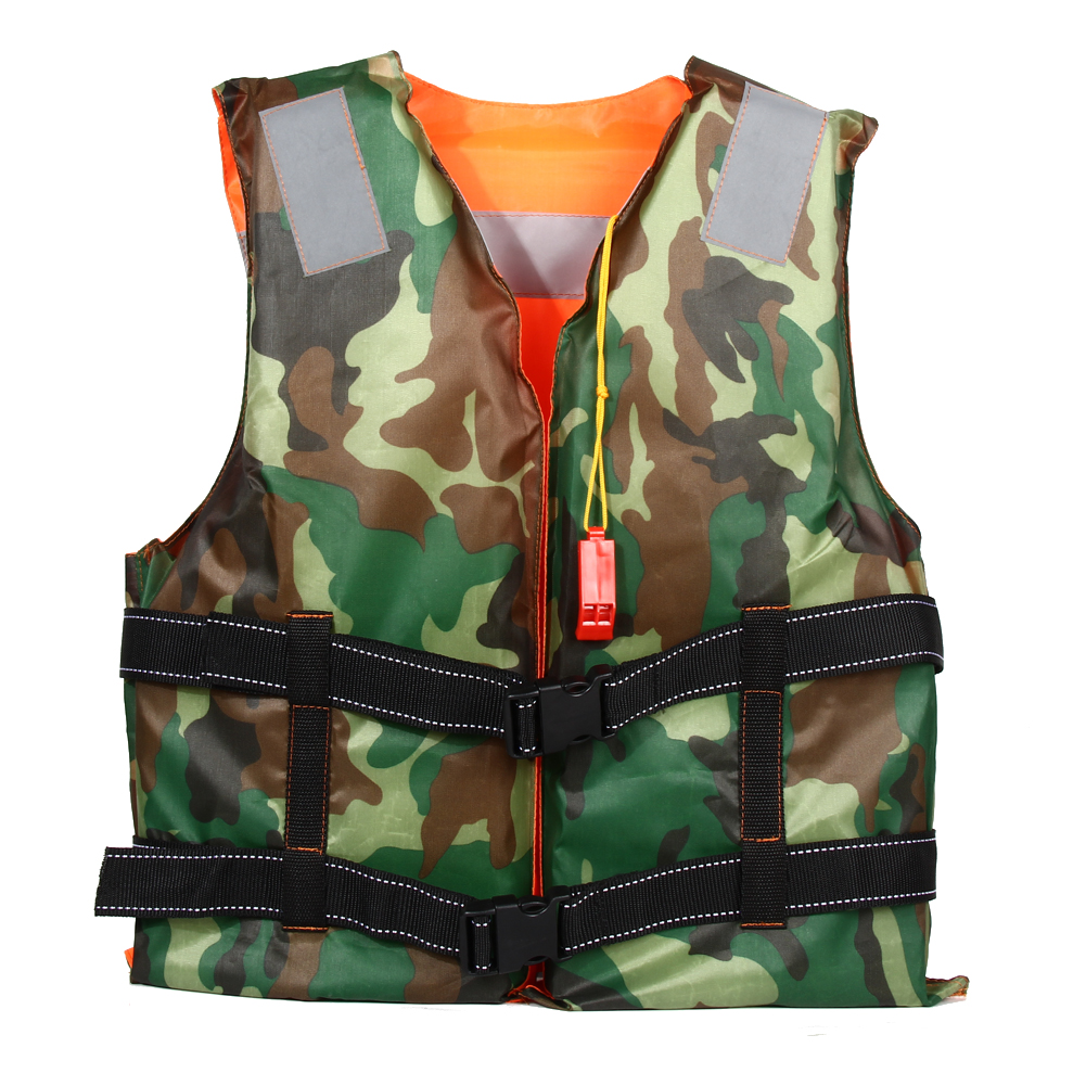 Universal Adult Foam Flotation Swimming Life Jacket Vest With Whistle Boating Water fishing Swimming Ski Safety Life Jacket(China (Mainland))