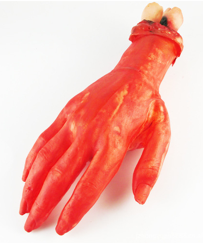 Supplies shock toys HAND TOYS COPY HAND HALLOWEEN BLOOD TOYS(China (Mainland))