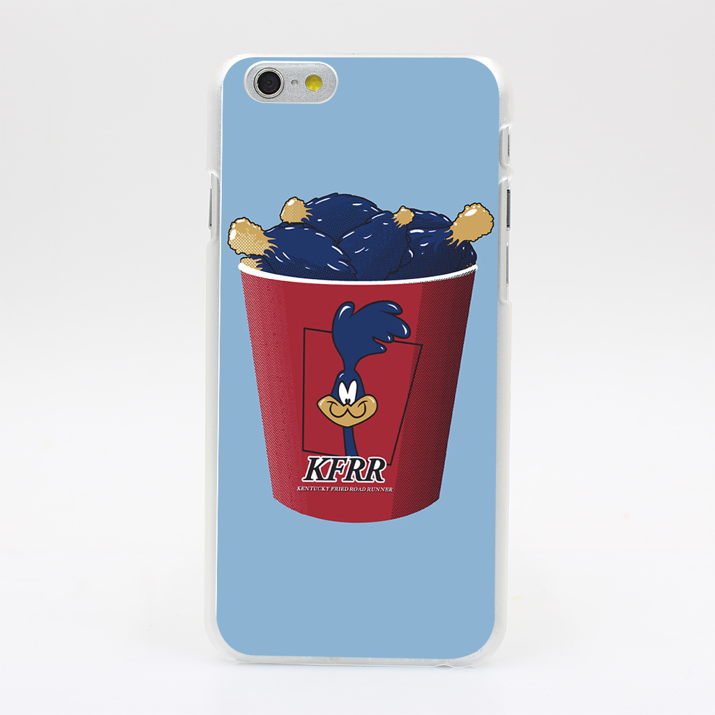 1283Y Kentucky Fried Road Runner Hard Case Transparent Cover for iPhone 4 4s 5 5s 5c SE 6 6s 7 & Plus(China (Mainland))
