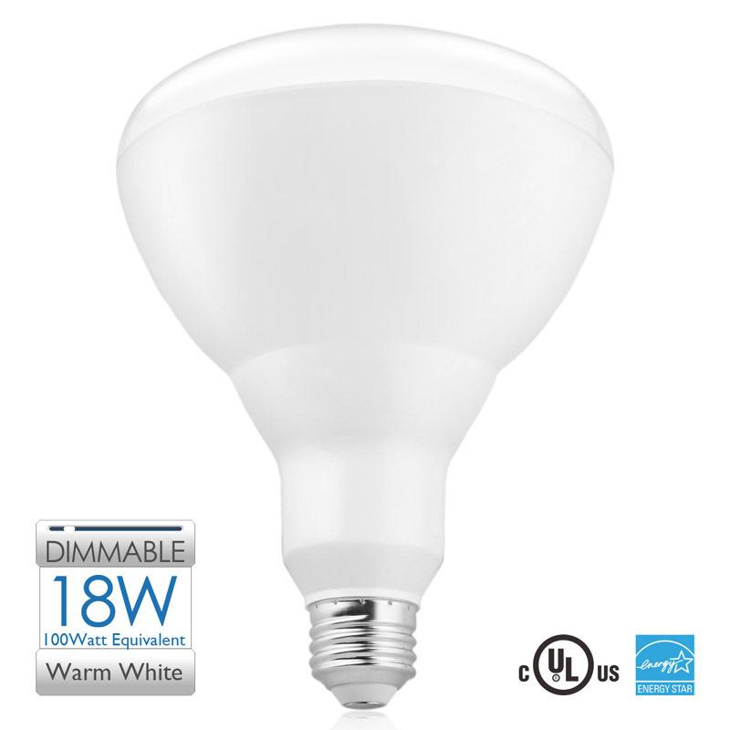 BR40 LED flood light Bulbs 3000K Warm White18W 100-watt Equivalent Dimmable Bulbs E26 Base 120V with UL and Energy Star(China (Mainland))