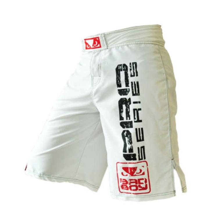 MMA shorts boxing shorts men 's MMA boxing pants Muay Thai shorts kick Boxing pants Trunks M -XXXL white black free shipping(China (Mainland))