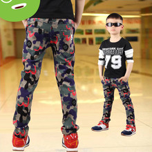 Winter children Childrens Boys pants baby camouflage trousers children trousers cotton thickening kids leisure trousers(China (Mainland))