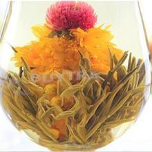 2014 New Novetly 10 Pcs Handmade Flower Tea Designer Beautiful Blooming tea Good Taste Scented Tea