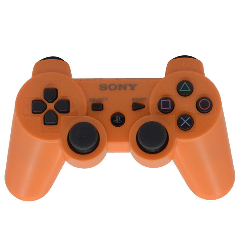 Newest SIXAXIS Free Shipping Wireless Bluetooth Controller Gamepad for PS3 Controller Playstation 3 Joystick Console SIX COLORS(China (Mainland))