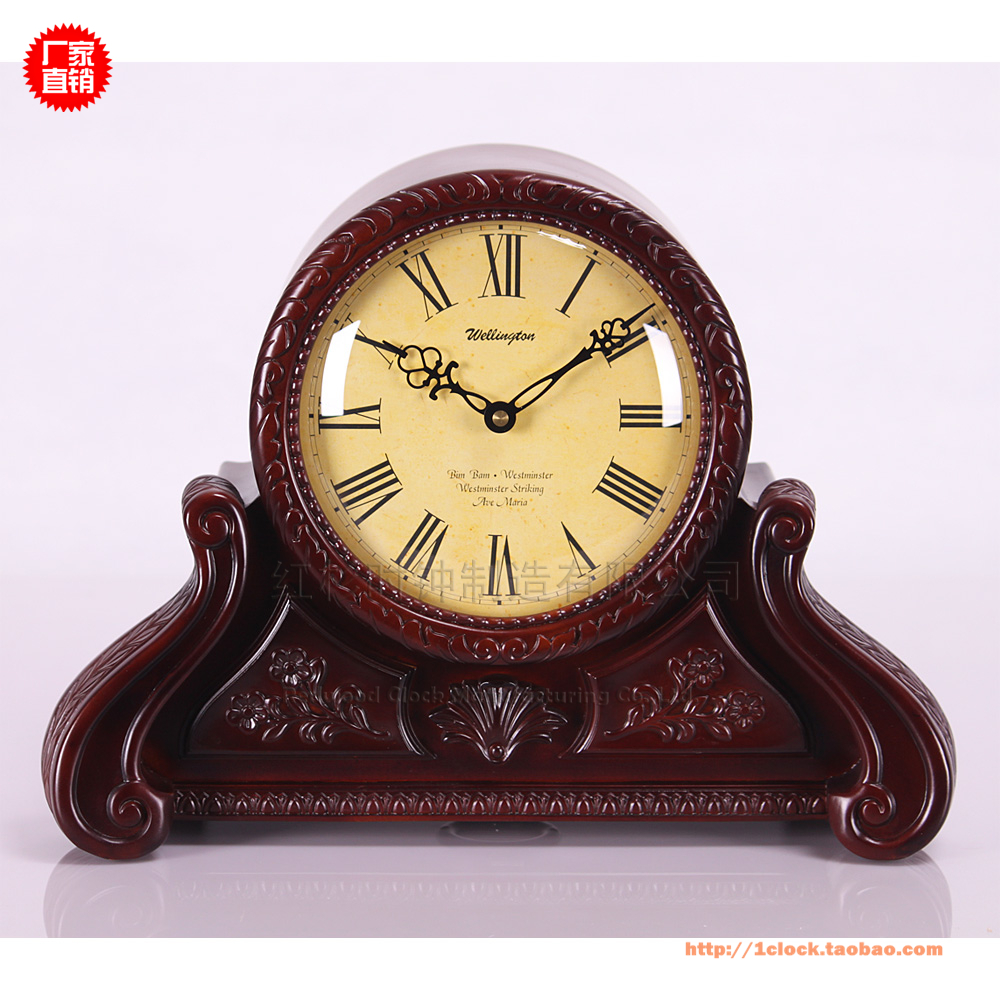 High End European Style Classic Antique Clock Bedside