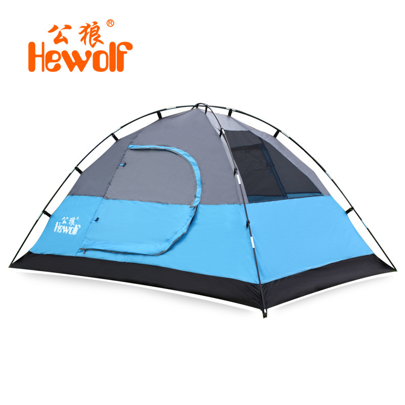 Super Light Double1-2 People Tent Hunting And Fishing Camp Tents Outdoor Party Red Blue 2 Colors Optional1536(China (Mainland))