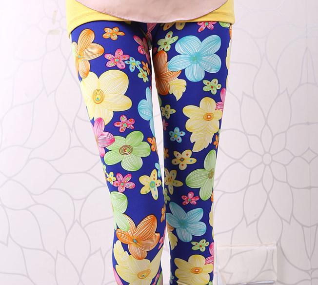 1pc retail 2014 new style 2-7 years baby girl's children pants girls' leggings pants girls leggings(Hong Kong)