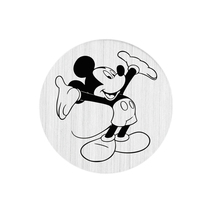 22mm Floating Charms Stainless Steel Mickey Window Floating Plates For 30mm Living Floating Lockets(China (Mainland))