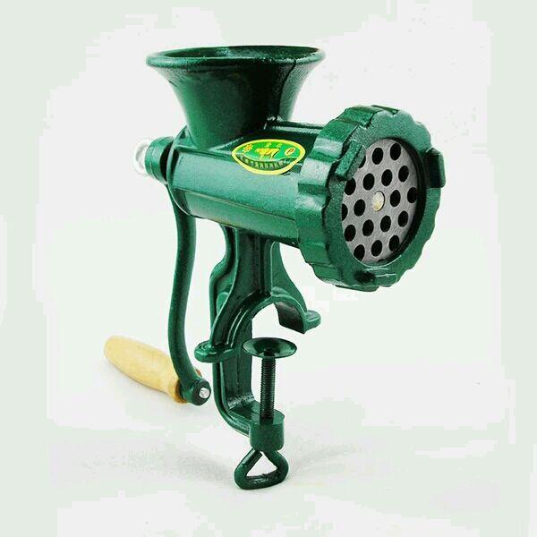 Cast Iron No. 8 grinder Mini Manual meat grinder Manual meat mincer slicer pepper grinder with sausage filler gift