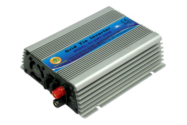 300W Grid Tie Micro Inverter, 22V~60V DC to AC 190-260V Small Inverter for 30V or 36V Solar or Wind Power System(China (Mainland))