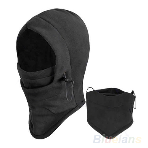 Hot Sale Thermal Fleece Balaclava Hood Police Swat Ski Bike Wind Winter Face Mask For Skullies & Beanies 03IL(China (Mainland))