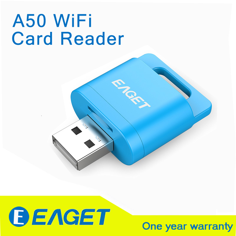 EAGET Official A50 WiFi Wireless Card Reader for Micro SDHC Memory Card /TF Flash Card; Extra Wireless Storage For iOS / Android(China (Mainland))