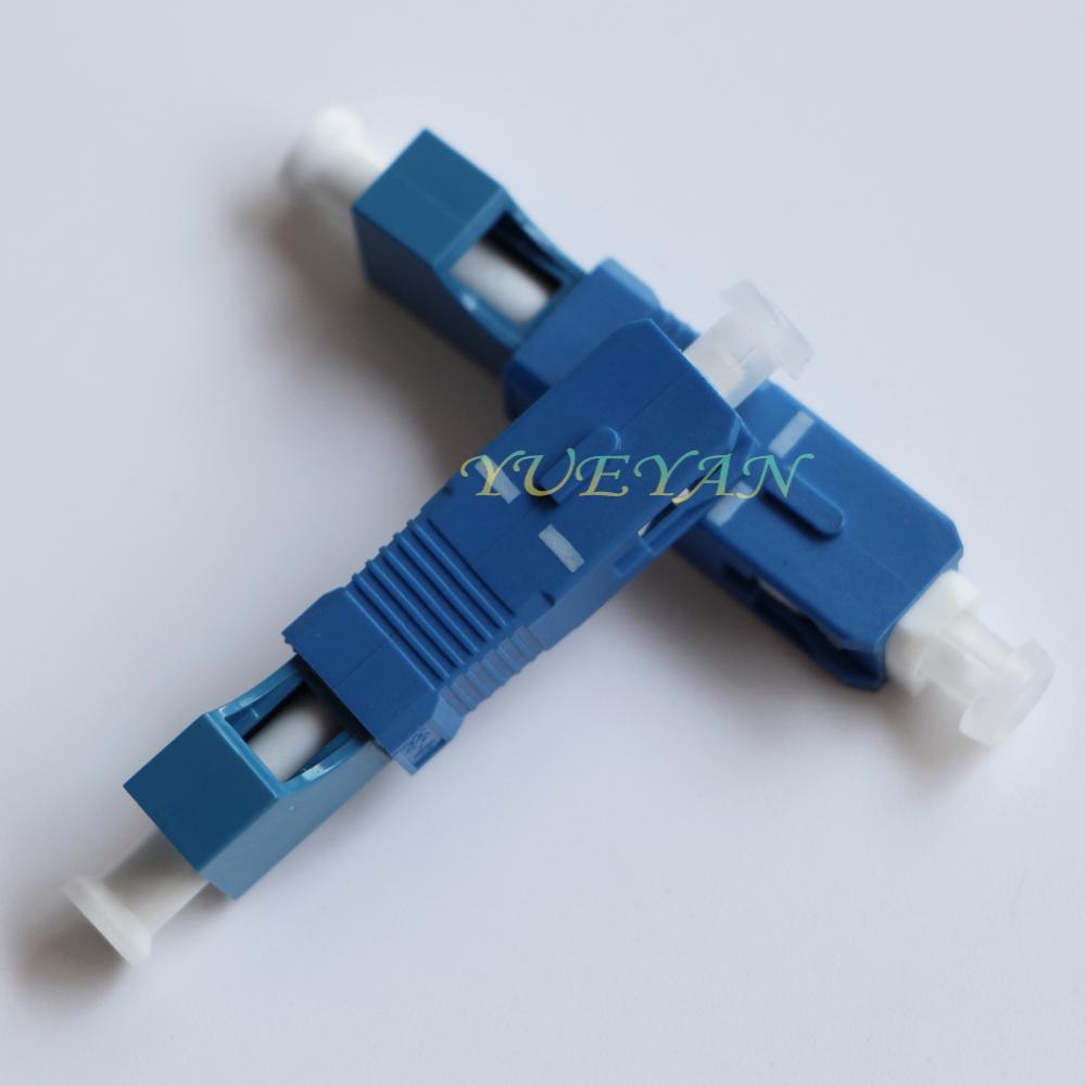 2.5mm 1.25mm SC Male LC Female Fiber Optic Adapter SC-LC Hybrid Optical Adaptor Visual Fault Locator Testing - SHANGHAI YUEYAN Communication Technology Co., Ltd. store