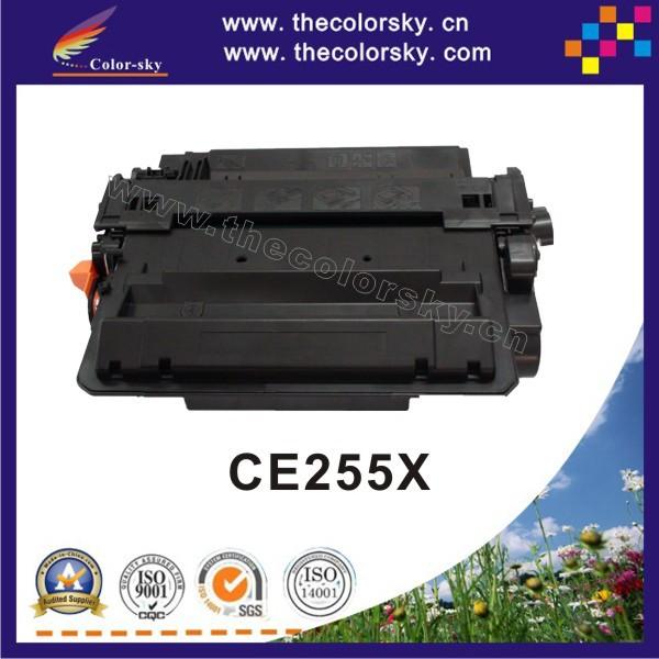 (CS-H255X) compatible toner cartridge for HP CE255X CE 255X 255 55x 55 CE-255X CE255 HPCE255X hpce-255x hpce 255x 12.5K free dhl<br><br>Aliexpress