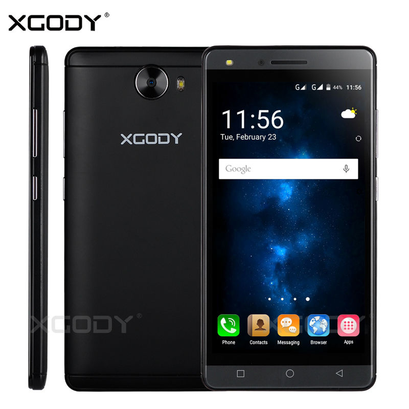 XGODY 5.0 inches Smartphone Quad Core 512MB+8GB Android 5.1 With Phone Case Dual Sim Cards Mobile Phone(China (Mainland))
