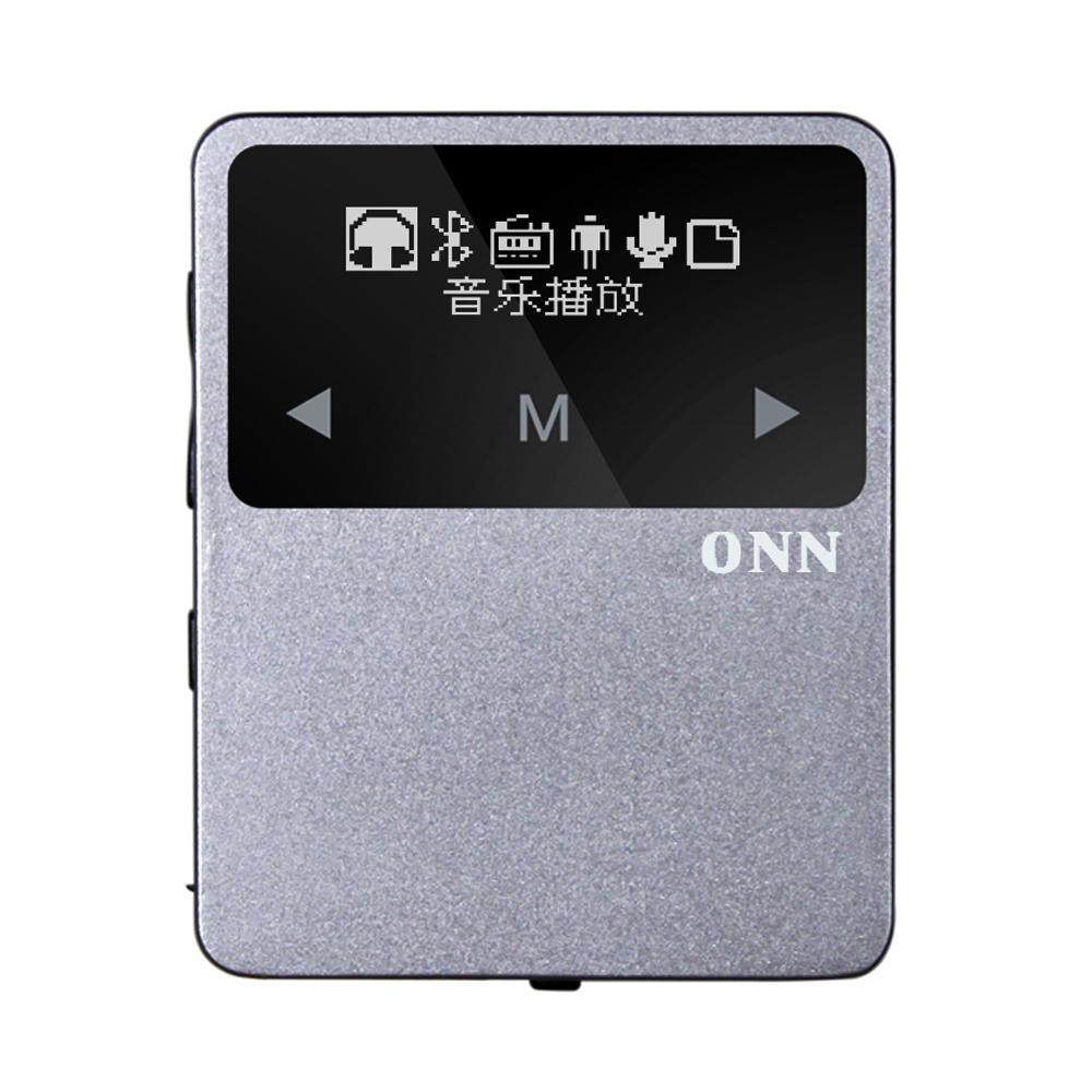 2016 Metal Bluetooth Sport MP3 Player Portable Audio 8GB with FM Radio Bluetooth Pedometer multi-funcation Music Player ONN X1(China (Mainland))