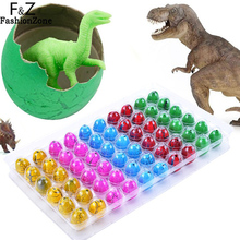 Buy 60pcs/lot Colorful Baby Novelty Gag Toys Magic Hatching Inflation Growing Dinosaur Eggs Water Kids Educational Gift for $11.89 in AliExpress store