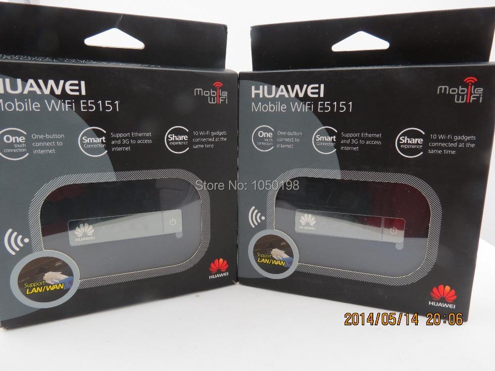 HUAWEI E5151s-2 HSPA+21Mbps Mobile WiFi Modem MiFi LAN WAN RJ45<br><br>Aliexpress