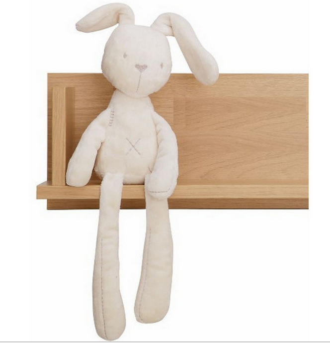 54*11cm Cartoon Cute Baby Kids Animal Plush Rabbit Soft Toy Baby Sleeping Comfort Doll Plush Kids Toys(China (Mainland))