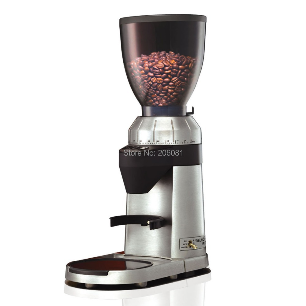 Welhome WPM professional conical burr coffee grinder mill with factory directly sale and excellent service and