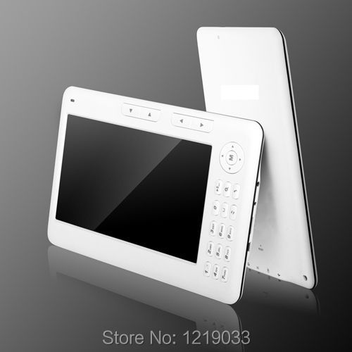 New 7 inch Ebook Reader 4GB 720P video PDF Reader Electronic book E-book 4GB E Reader PDF MP3/MP4 Player Free Shipping(China (Mainland))