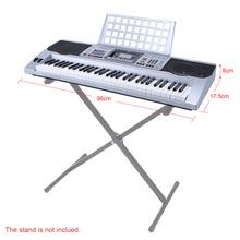 61 Keys Multifunctional Electric Piano LCD Display Digital Keyboard Organ with USB Music Playing Status Memory Music Holder(China (Mainland))
