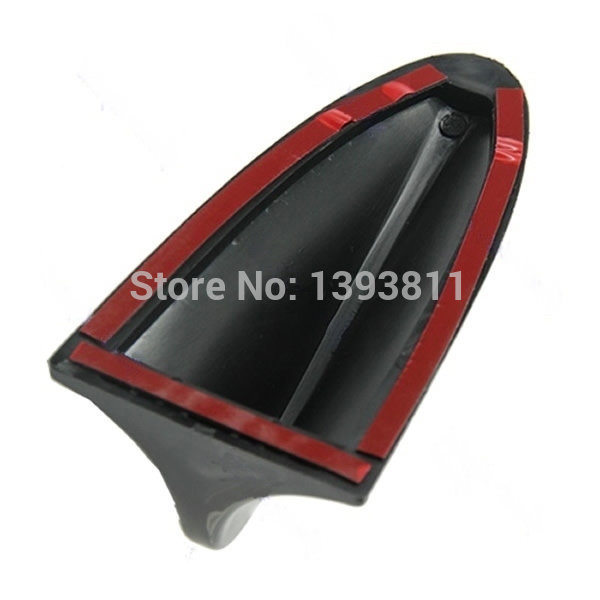Auto Car Shark Fin Roof Decorative Decorate Antenna Aerial Universal Fitment Antenna Fit For Universal Auto Car Black Color(China (Mainland))