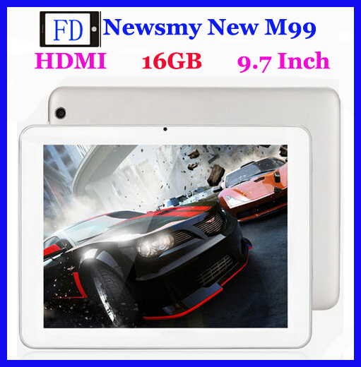 Newsmy new M99 WIFI 16GB Tablet PC 9.7 inch big screen high definition HDMI quad core Android tablet(China (Mainland))