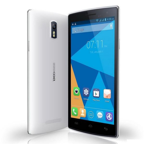 "Original Doogee KISSME DG580 MTK6582 Quad Core Cell Phone Android 4.4 1GB RAM 8GB ROM 5.5"" IPS Screen 5MP Camera GPS Smartphone(China (Mainland))"