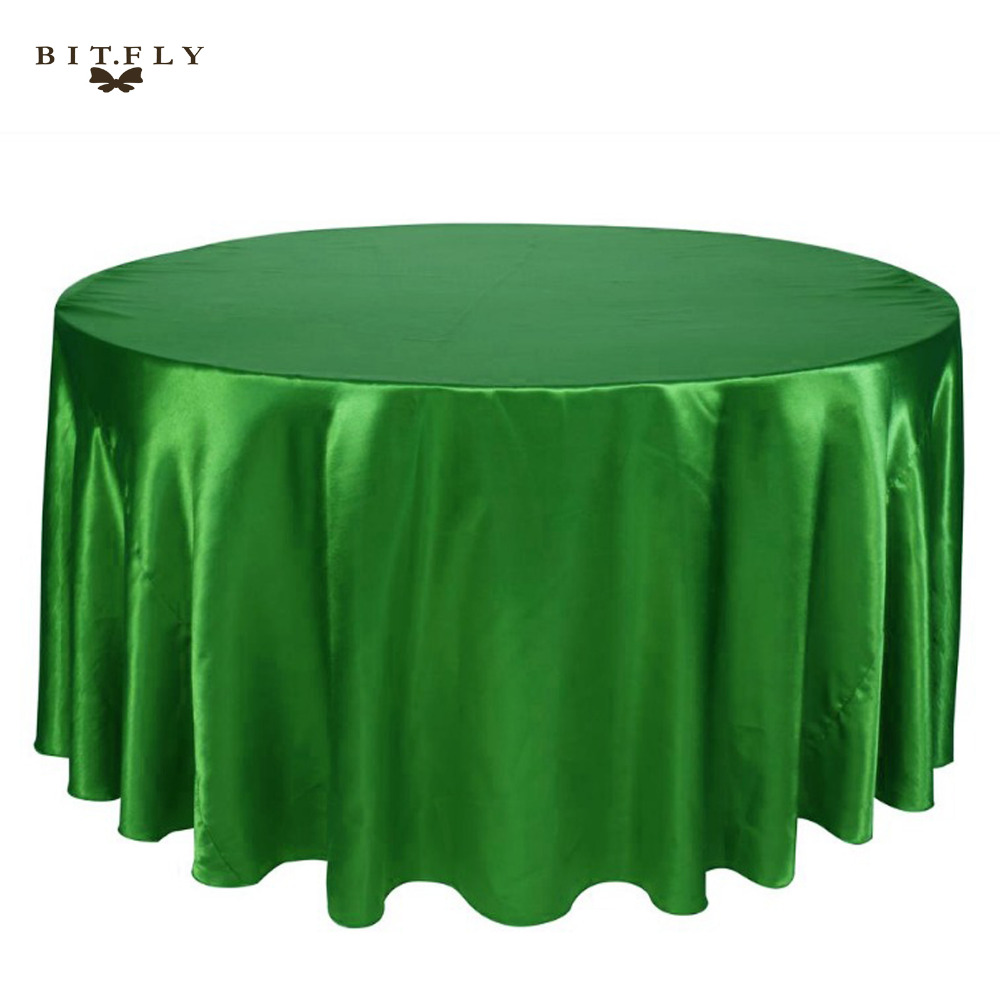 Online get cheap green round tablecloths for 120 round plastic table covers