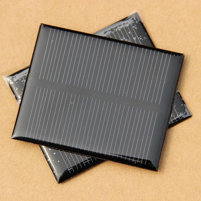 Solar Panels 5.5V 0.5W 100MA Mini Solar Cell For Small Power Appliances Solar Toy Panel Education Kits 68x55.6x3mm 500pcs/lot(China (Mainland))