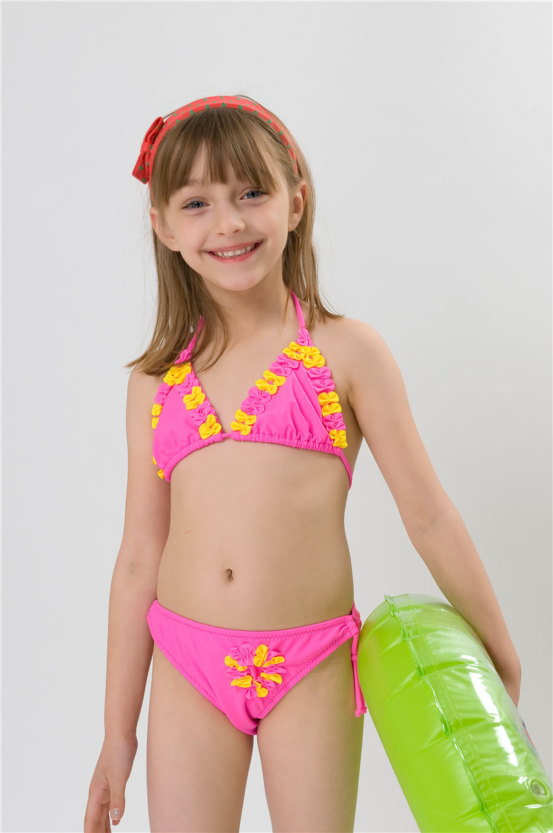 Warm weather is right around the corner! Whether you prefer UPF 50+ rash guards, bikinis or one-piece swimsuits, our ruffled swimwear is sure to be a hit. Shop our brand new swimwear collection to find a fun, fabulous new suit for your little one now.