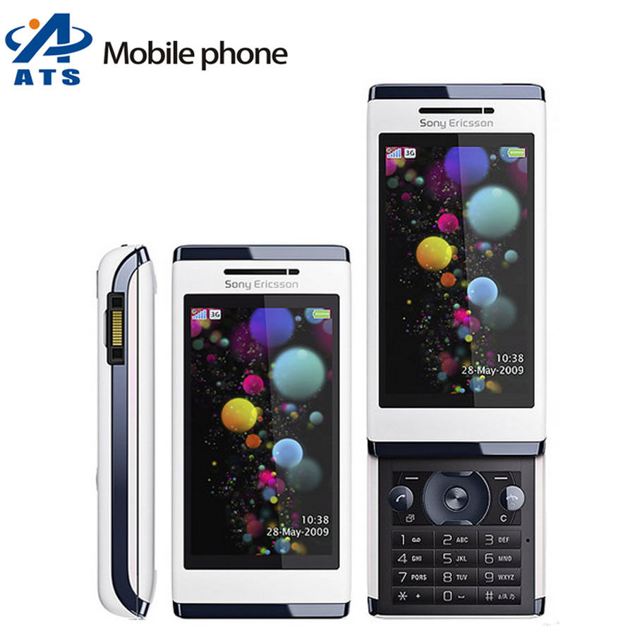 Original Sony Ericsson U10 U10i Mobile Phone 3G WIFI GPS 8MP Camera Russian keyboard Support mobile phone(China (Mainland))