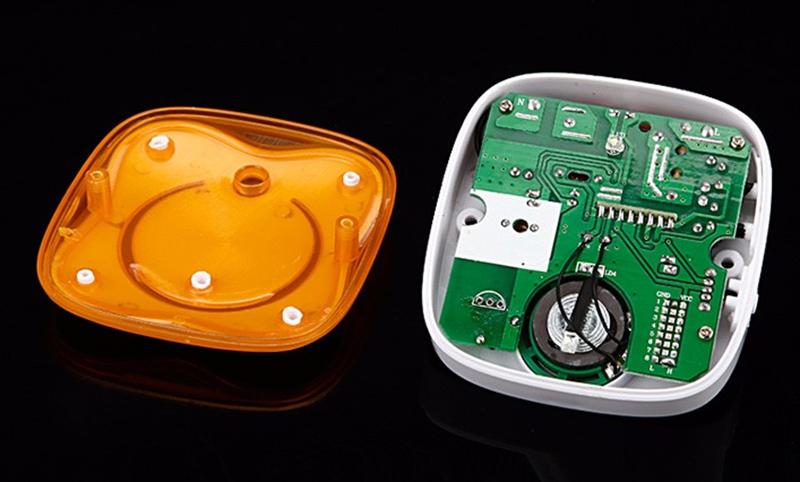 CACAZI doorbell 280M remote control waterproof Wireless Door bell US EU Plug door chimes 1 Transmitter 2 receiver 9809