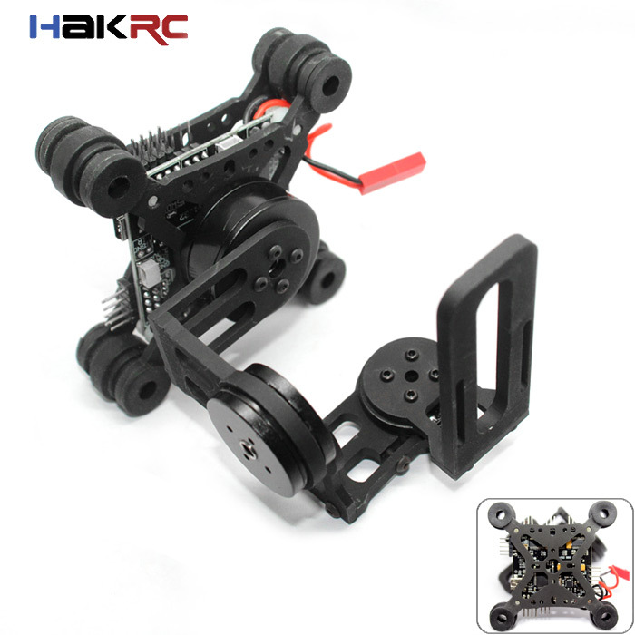 HAKRC Storm32 3 Axis Brushless Gimbal W/ Motors & 32 bit Storm32 Controlller for Gimbal Gopro3 / Gopro4 FPV Accessory(China (Mainland))