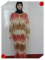 Muslim dress robes Muslim fashion colour