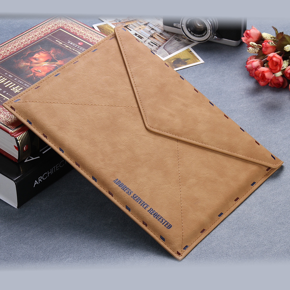 Universal Laptop Bag Envelope PU Leather Case Pouch For Apple Macbook Pro 13 Air 11 13 Notebook Protective Sleeve For Ipad Mini(China (Mainland))