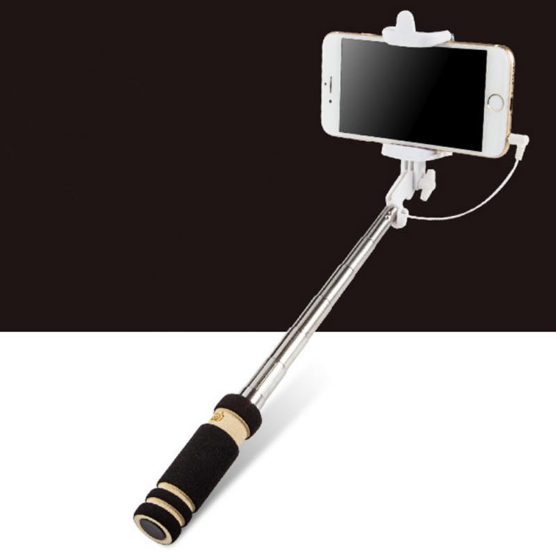 handheld extendable selfie sticks for iphone 6 6s plus 5 5s for samsung galax. Black Bedroom Furniture Sets. Home Design Ideas