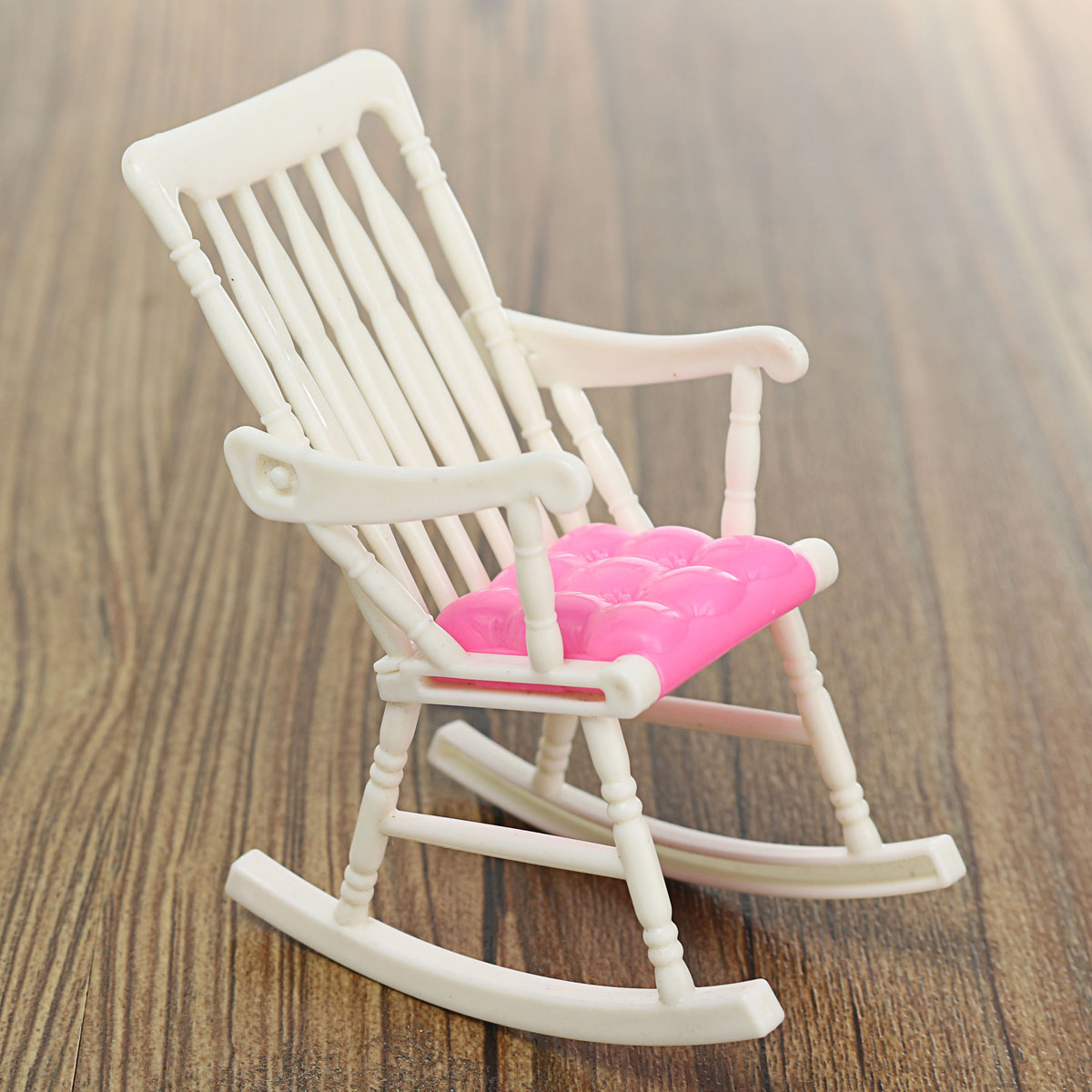 Miniature Doll Rocking Chair Accessories For Doll House Room Dollhouse ...