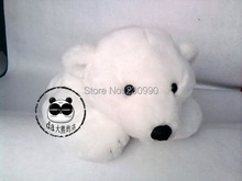 "Can Carry ! 2014 New 19""/48cm White Baby Polar Bears Plush Toys for Children Baby Bear Stand on another Birthday Christmas Gift"