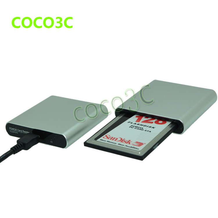 Free shipping usb 2 0 to 68pin pcmcia slot card reader for for Pcmcia mercedes benz