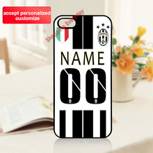 Juventus DIY Customized Your Name Number Case Cover for LG G2 G3 G4 G5 iPhone 4S 5S 5C 6 6S 7 Plus iPod 4 5 6 Sony Z2 Z3 Z4 Z5(China (Mainland))