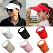 Cotton Sun Visor Hat Cap Sport Tennis Baseball Golf Beach Adjustable Women Men(China (Mainland))