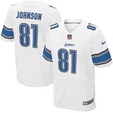 2016 Uomini elite Detroit Lions,81# Johnson,20 Barry Sanders,9 Matthew Stafford,94# Ezechiele Ansah, blu bianco 100% cucita logo(China (Mainland))
