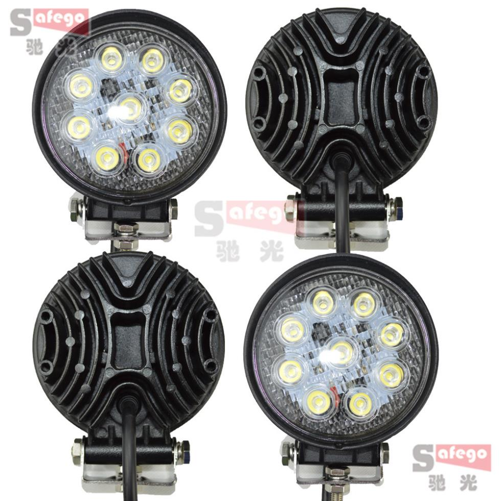 Led Lights For Tractor Trailers : Pcs w led work light fog driving lamp for tractor