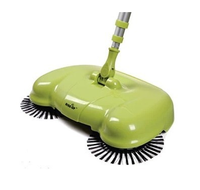 Free Shipping Genuine thumb Sweeper wireless hand push home without electricity broom Manual Sweeper(China (Mainland))