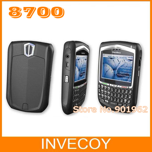 "8700 Original Blackberry Curve 8700 Unlocked mobile phone WI-FI GSM 2.4"" phone freeship(China (Mainland))"