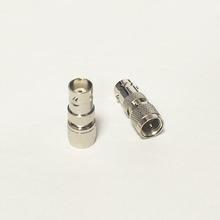 Miniuhf вилочная часть вилка переключатель байонетный разъём женское джек RF коаксиальный адаптер конвертер прямой Nickelplated